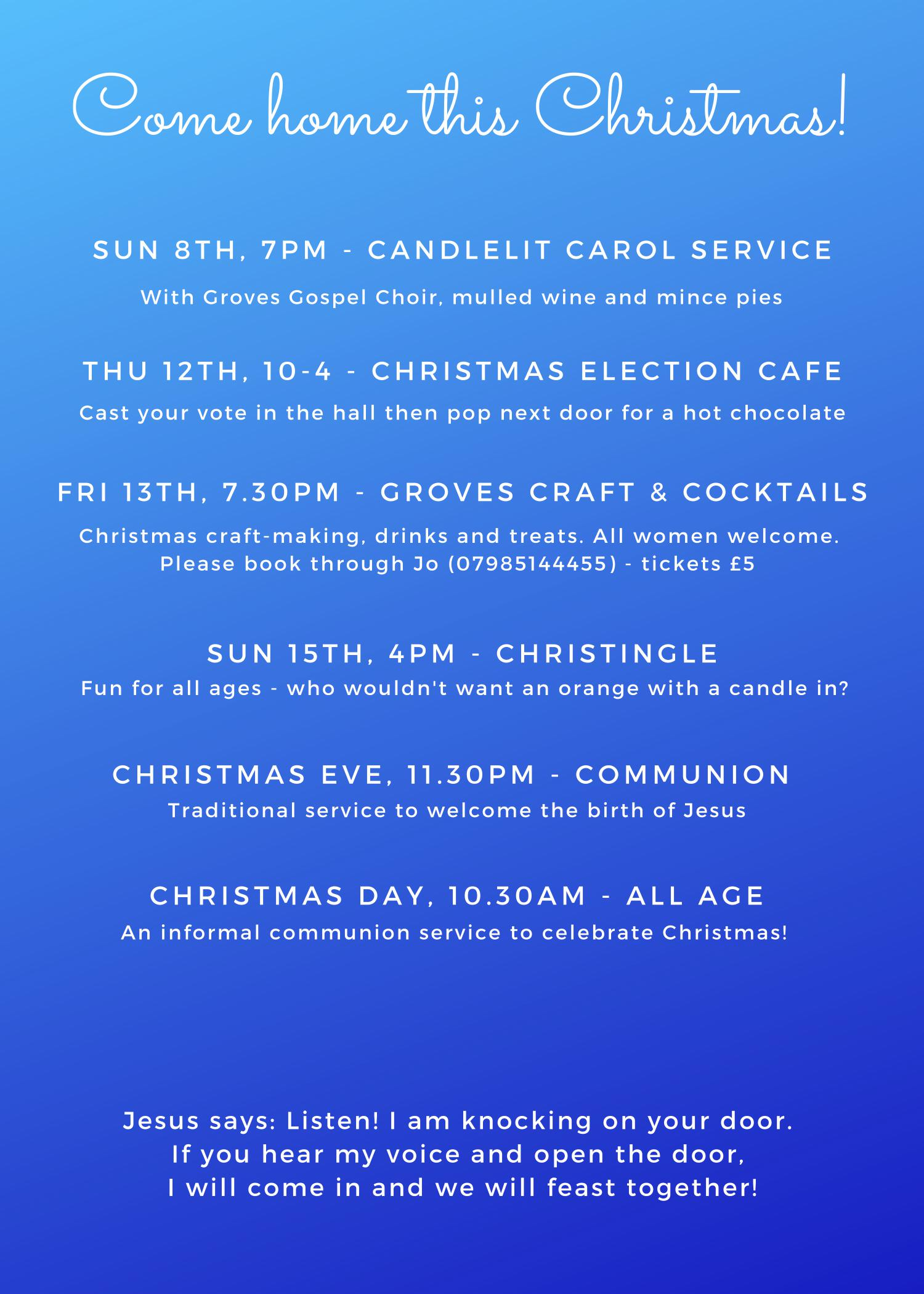 christmas events 2019